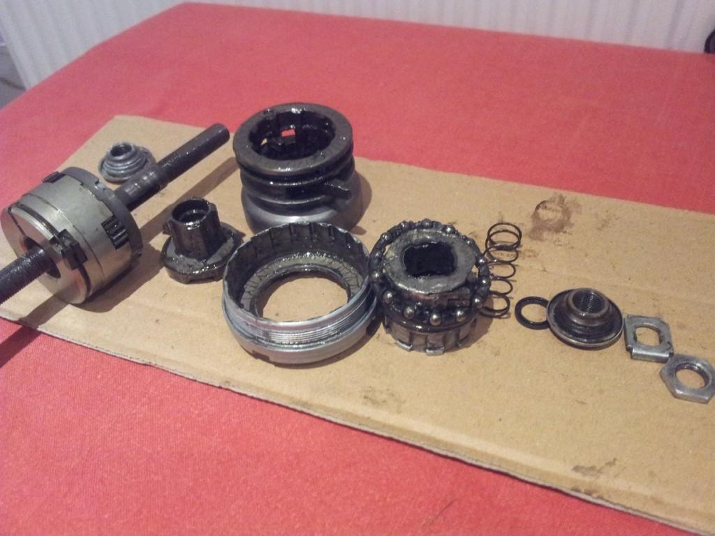 Dismantled Sturmey BWR
